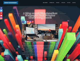 dualscreenwallpaper.com screenshot