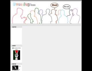 duansays.blogspot.com screenshot