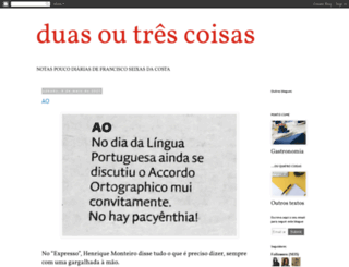 duas-ou-tres.blogspot.pt screenshot