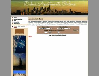dubai-apartments-online.com screenshot