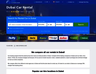 dubai-carrental.com screenshot