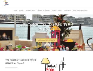 dubai-fleamarket.com screenshot