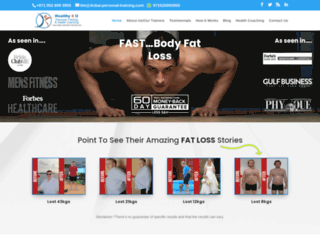 dubai-personal-training.com screenshot