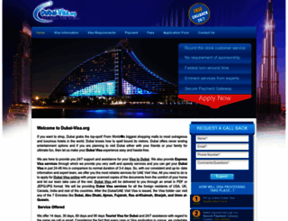 dubai-visa.org screenshot
