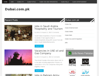 dubai.com.pk screenshot