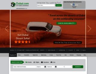 dubai.com screenshot