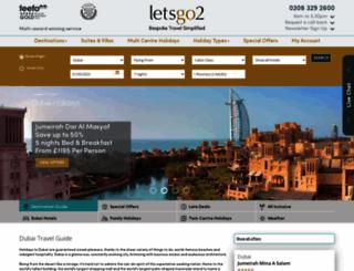dubai.letsgo2.com screenshot