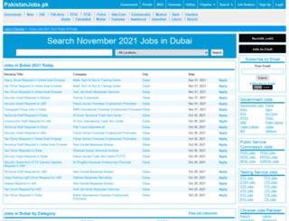 dubai.pakistanjobs.pk screenshot