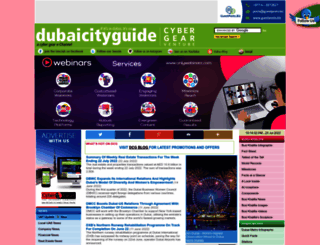 dubaicityguide.com screenshot