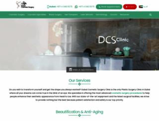 dubaicosmeticsurgery.com screenshot