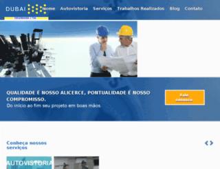 dubaiengenharia.com.br screenshot