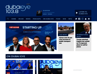 dubaieye1038.com screenshot