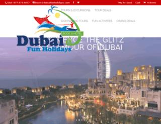 dubaifunholidays.com screenshot