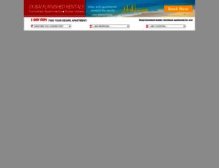 dubaifurnishedrentals.com screenshot
