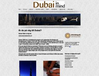 dubaiinmind.com screenshot