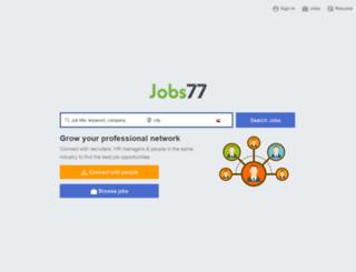 dubaijobs77.com screenshot