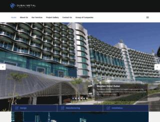dubaimetal.net screenshot