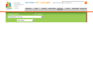 dubaipropertysale.com screenshot