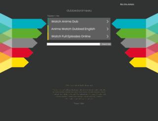 dubbedanime.eu screenshot