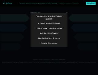 dublinevents.com screenshot