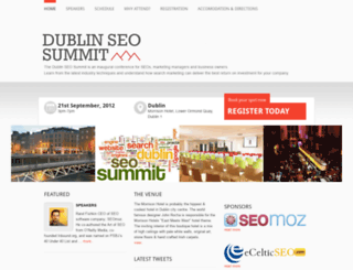 dublinseosummit.com screenshot