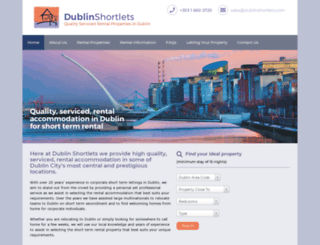 dublinshortlets.com screenshot
