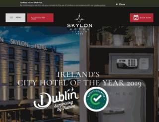 dublinskylonhotel.com screenshot