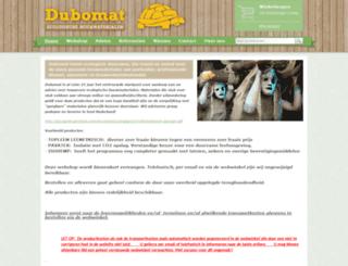 dubomat.nl screenshot