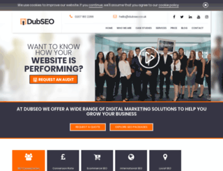 dubseo.co.uk screenshot