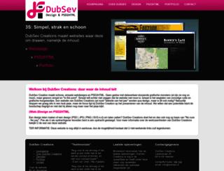 dubsev.nl screenshot