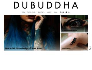 dubuddha.org screenshot