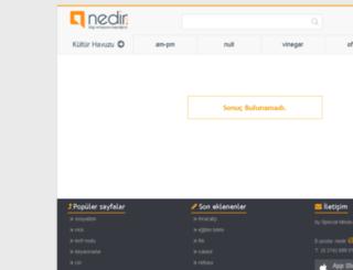 dubur.nedir.com screenshot