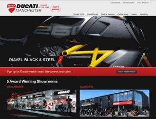 ducatistore.co.uk screenshot