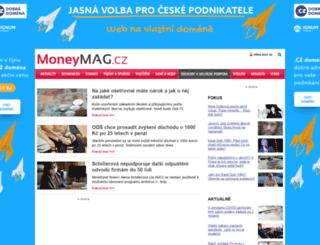 duchody-penze.moneymag.cz screenshot