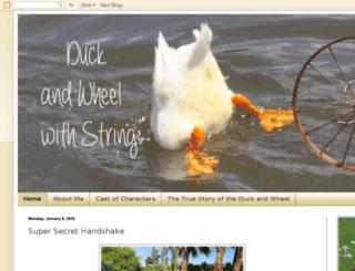 duckandwheelwithstring.blogspot.com screenshot