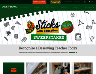 duckbrand.com screenshot