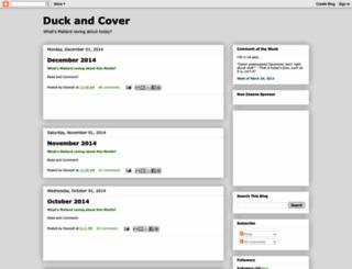 duckcover.blogspot.com screenshot