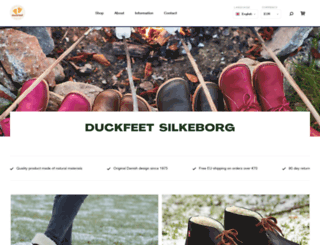 duckfeet.com screenshot