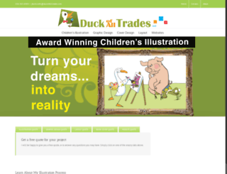 duckofalltrades.com screenshot