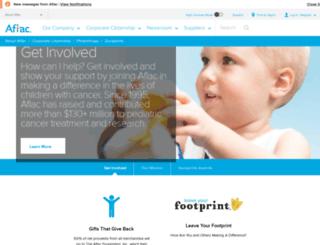 duckprints.aflac.com screenshot