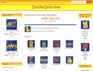 ducksonly.com screenshot