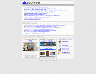 duckware.com screenshot