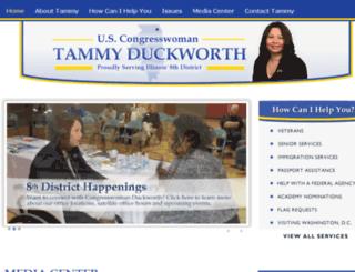 duckworth.house.gov screenshot