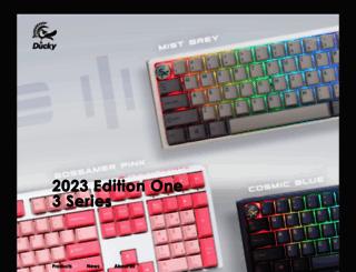 duckychannel.com.tw screenshot
