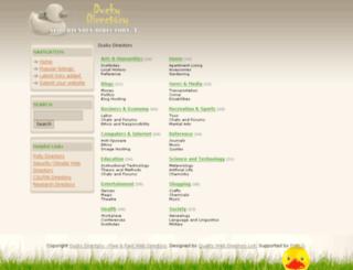 duckydirectory.info screenshot