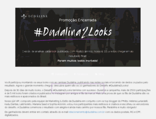 dudalina2looks.com.br screenshot