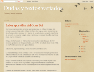 dudasytextos.blogspot.com screenshot