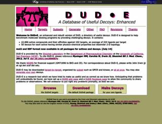 dude.docking.org screenshot