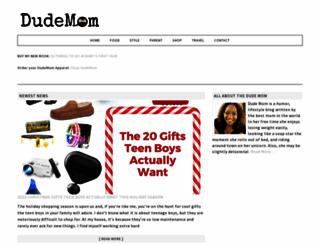 dudemom.com screenshot