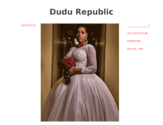dudurepublic.com screenshot